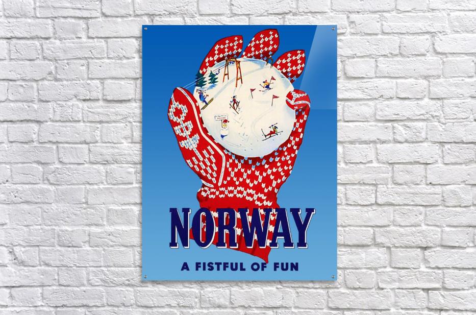 Norway Fistful of Fun  Acrylic Print