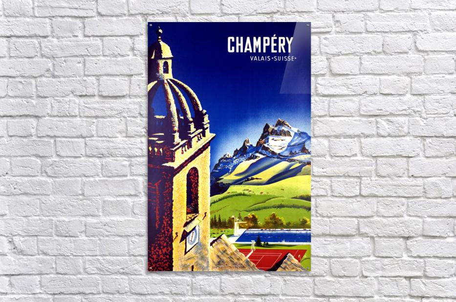 Champery  Acrylic Print