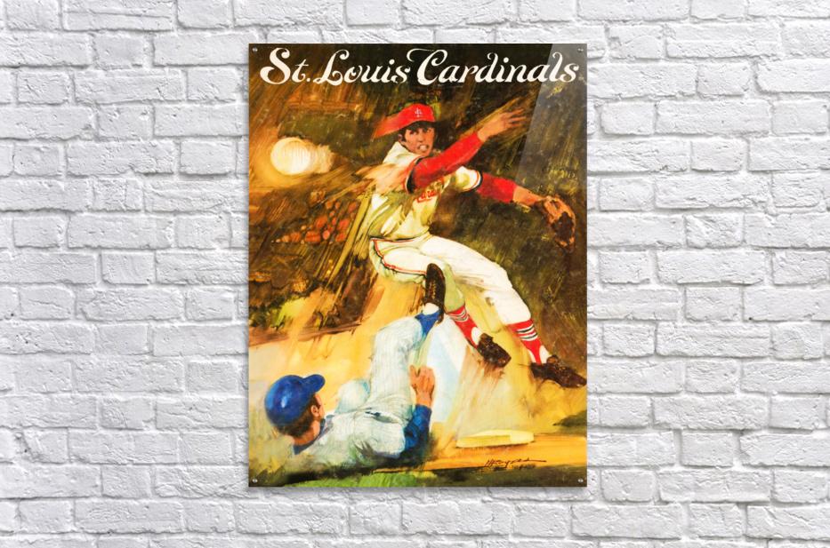 1972 St. Louis Cardinals  Acrylic Print