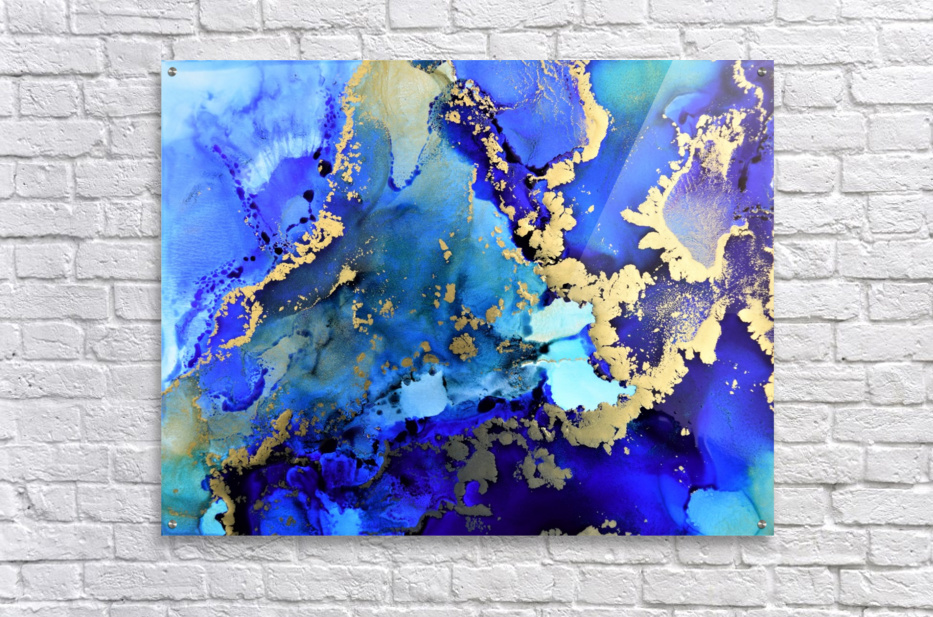 Starlight in Blue  Acrylic Print