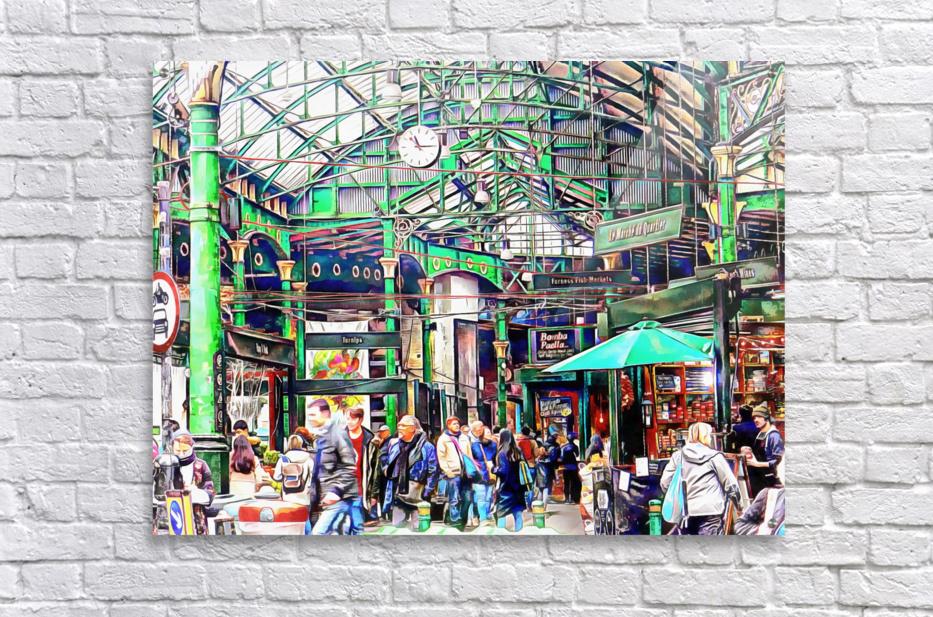 Borough Market London  Acrylic Print