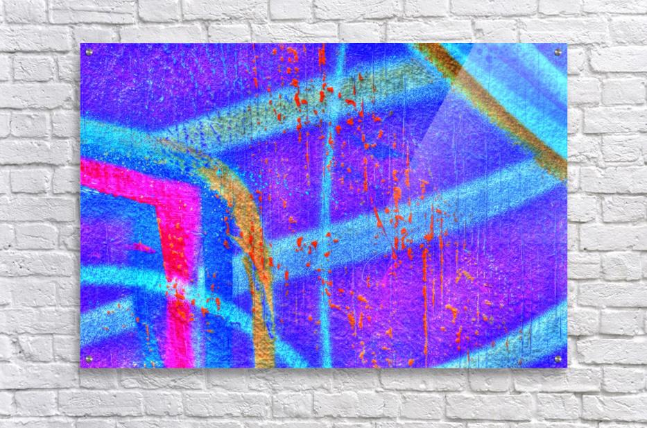 Gouttes rouges  Acrylic Print