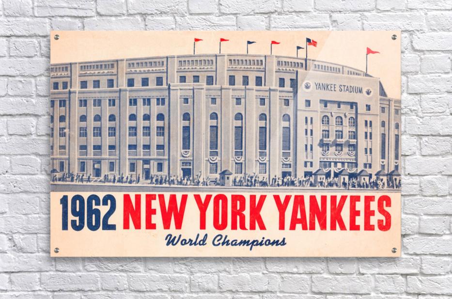 1962 new york yankees world champions  Acrylic Print
