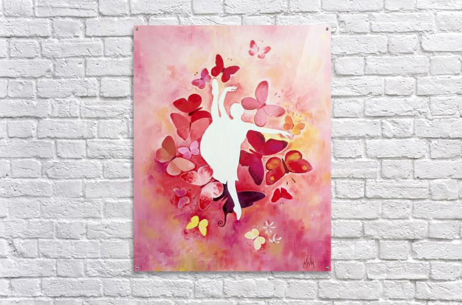 Balerina Anastasia  Acrylic Print