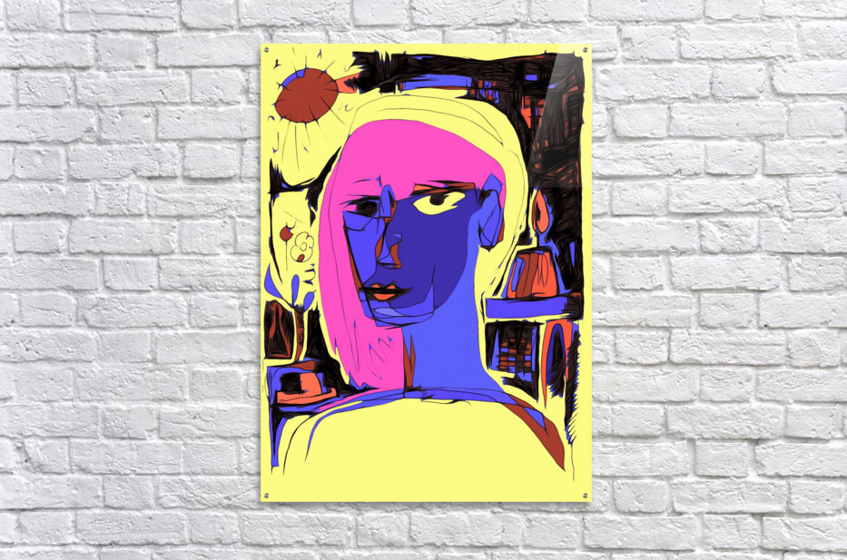 Women of Reboot Series   ⠀⠀⠀⠀⠀⠀⠀⠀⠀⠀⠀⠀ Hel Mort  Acrylic Print