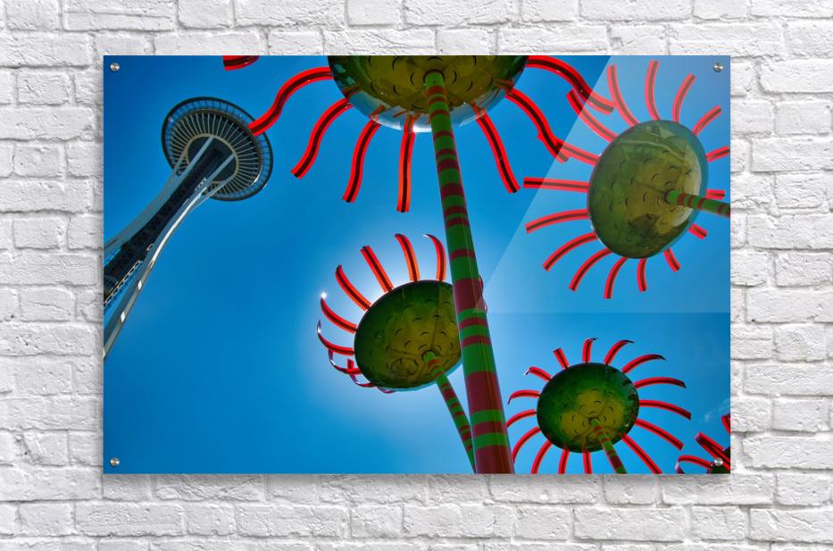 Seattle Space Needle  Acrylic Print