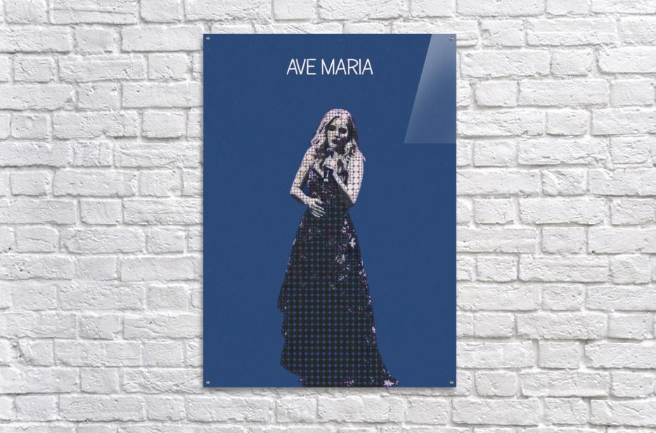Ave Maria   Jackie Evancho  Acrylic Print