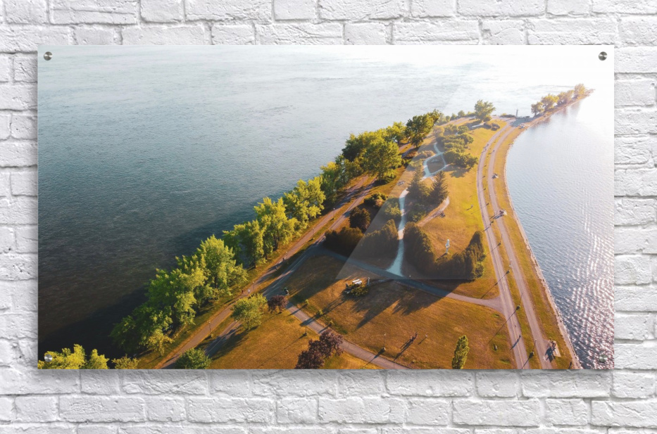 West River Shore  Acrylic Print