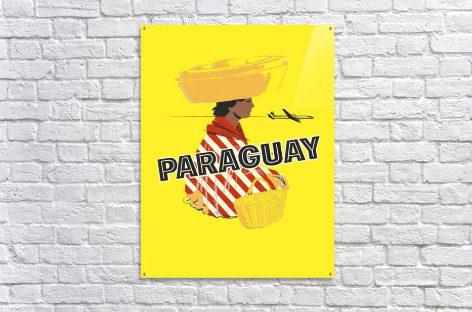 Paraguay  Acrylic Print