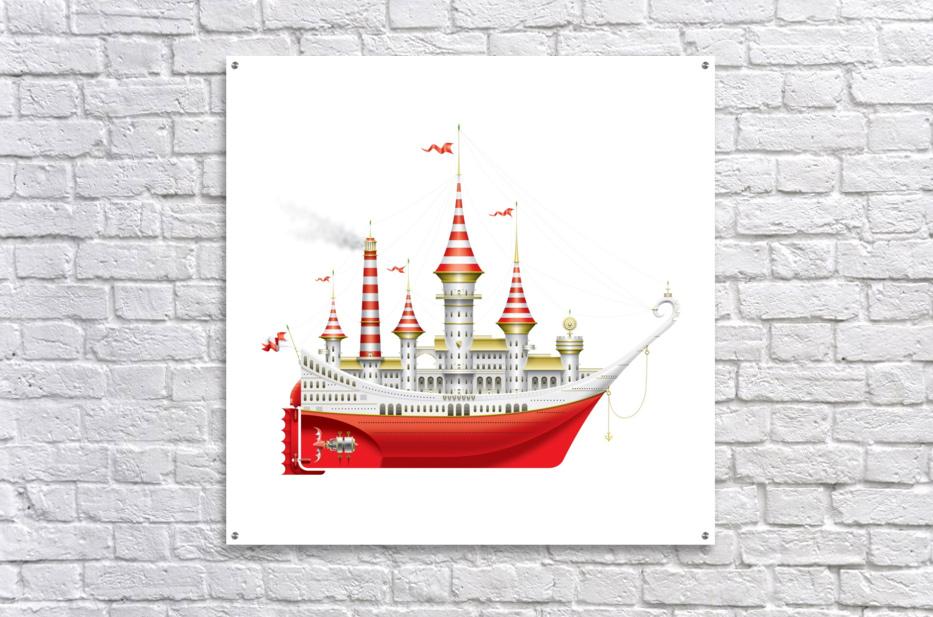 Crocciere Caravelle  Acrylic Print