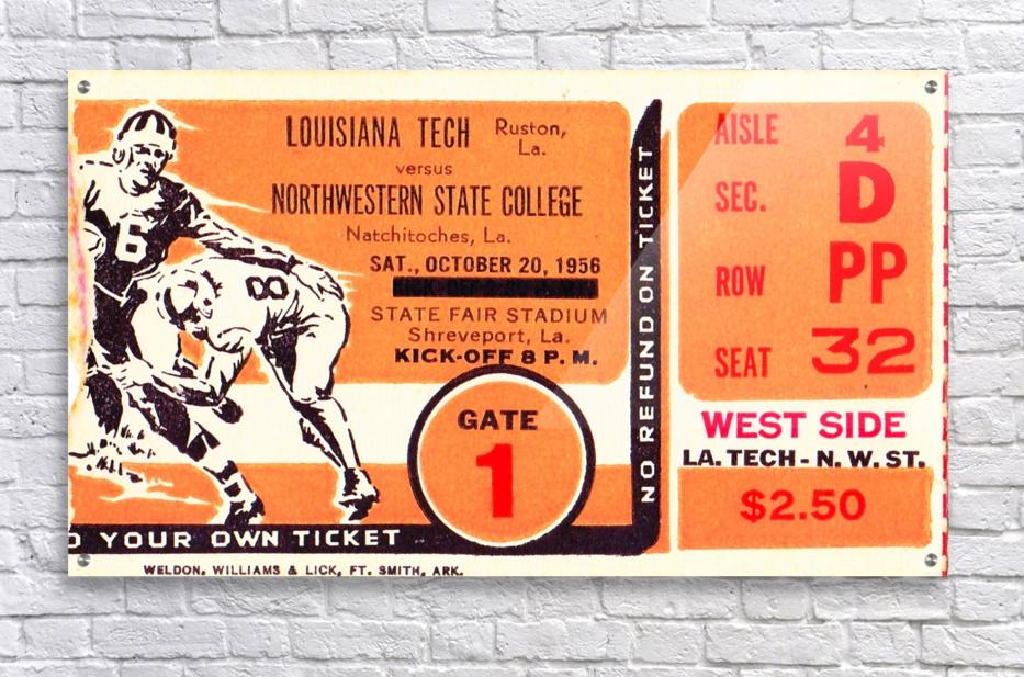 1956 Louisiana Tech vs. Northwestern State  Acrylic Print