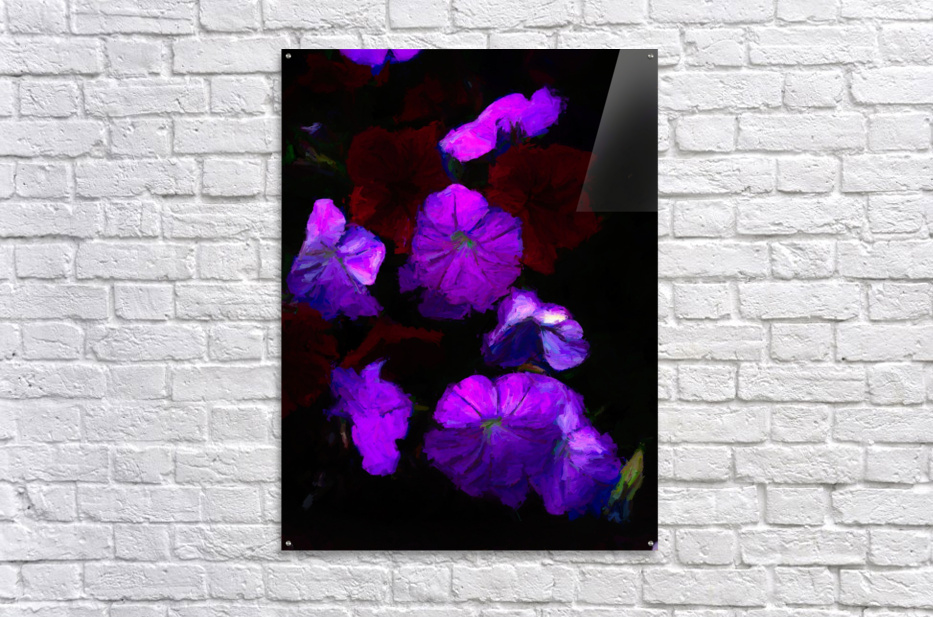 Evening Flowers  Acrylic Print