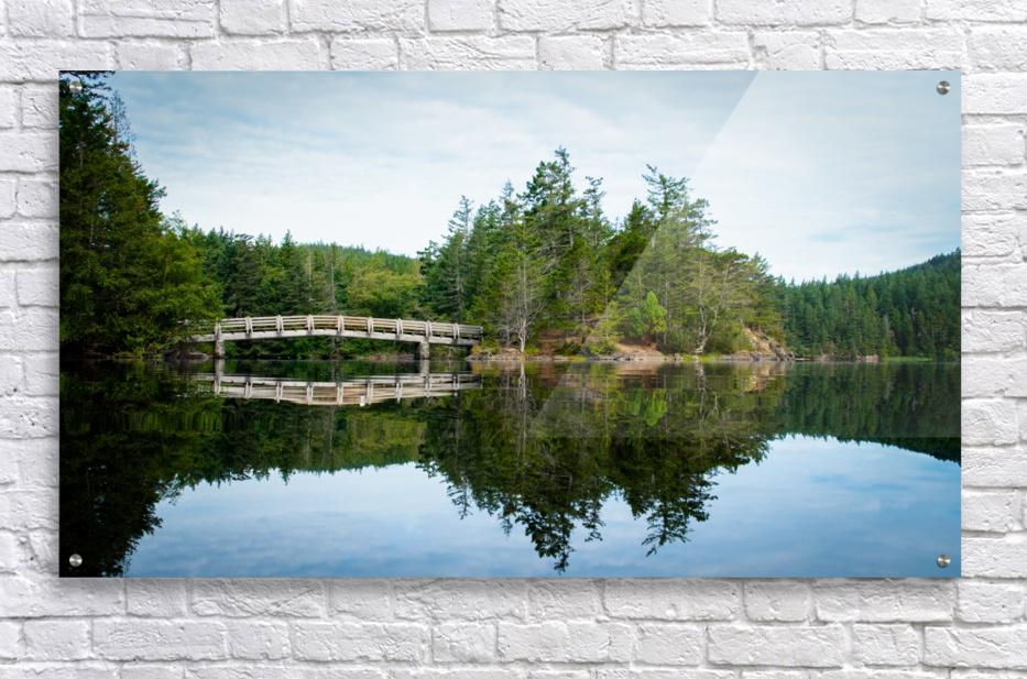 Beautiful Arch Bridge  Acrylic Print