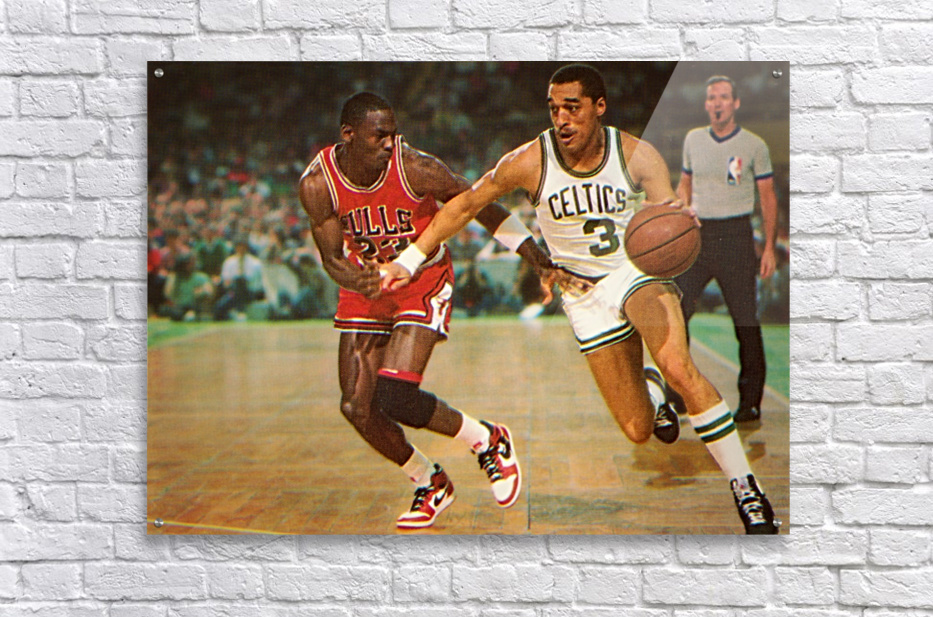 1985 Dennis Johnson vs. Michael Jordan  Acrylic Print