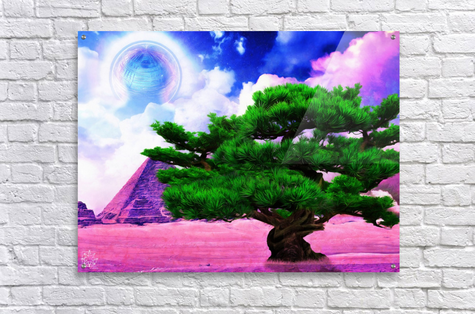 The Sublimate Tree  Acrylic Print