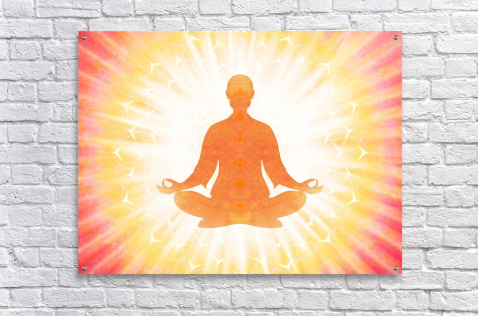 In Meditation - Be The Light  Acrylic Print