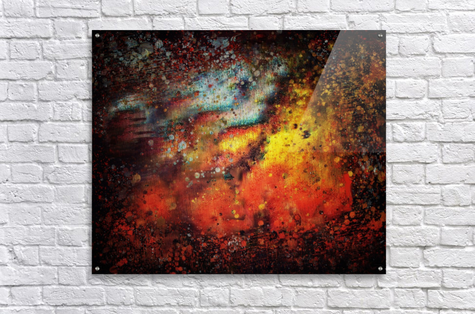 Untitled Abstract   Acrylic Print