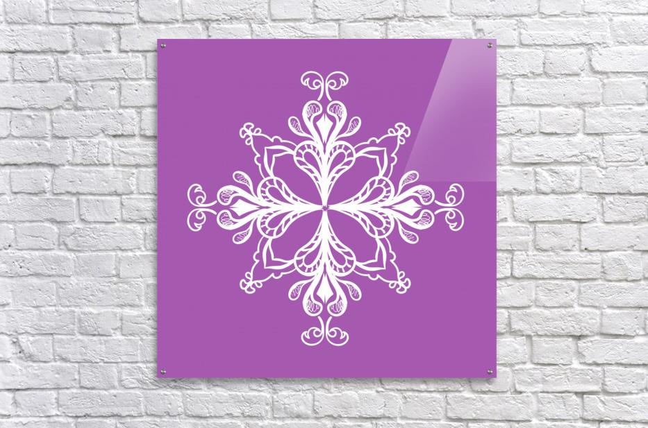 symmetrical doodle  Acrylic Print