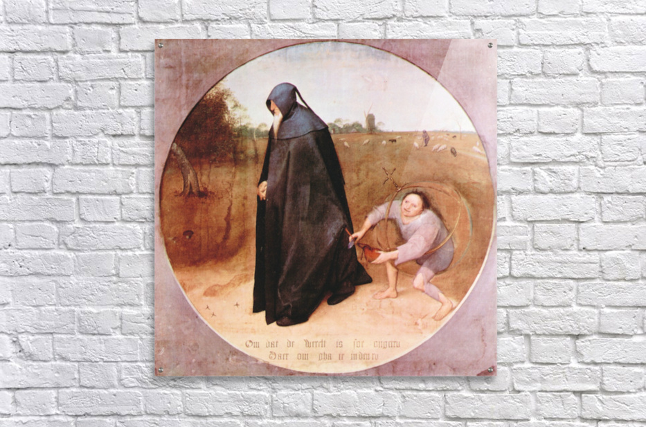 Misanthrope by Pieter Bruegel  Acrylic Print