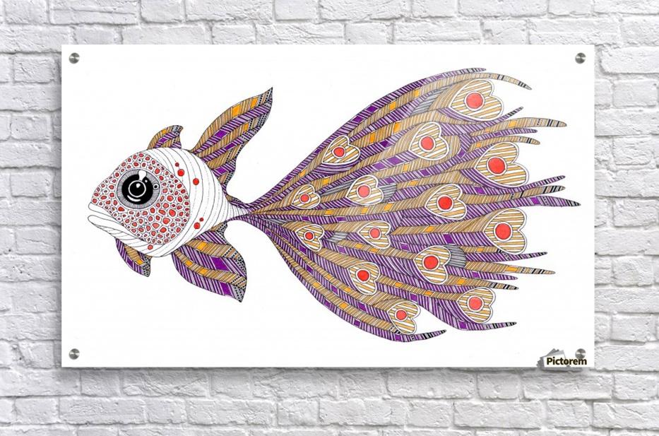 heart fish  Acrylic Print