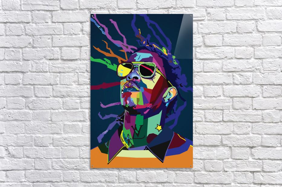 Young Thug Rapper Wpap Pop Art  Acrylic Print