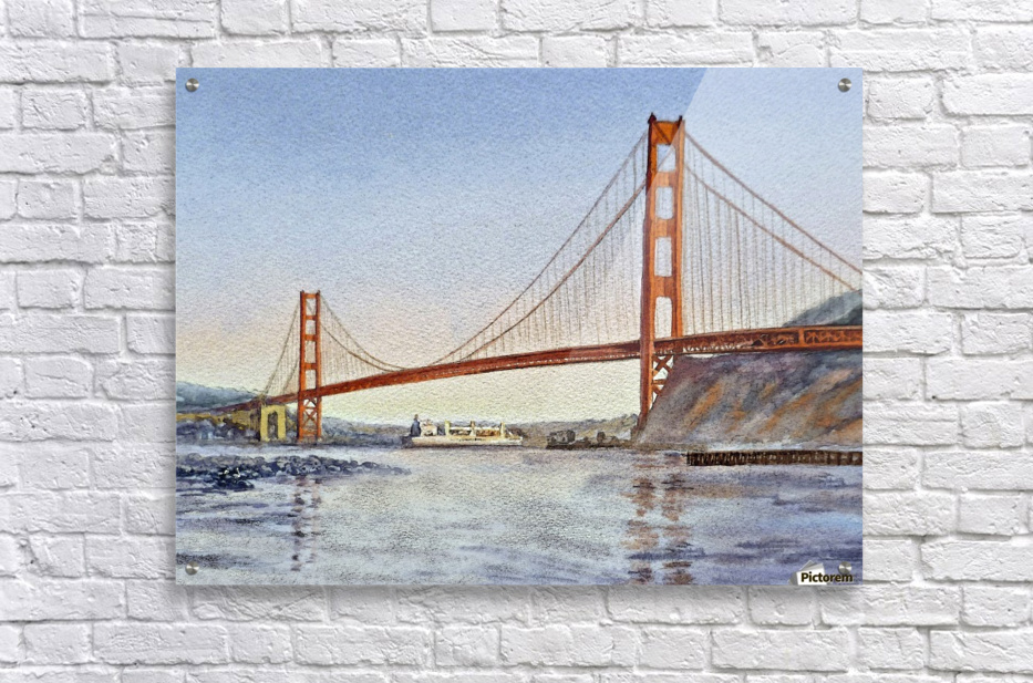 San Francisco California Golden Gate Bridge  Acrylic Print
