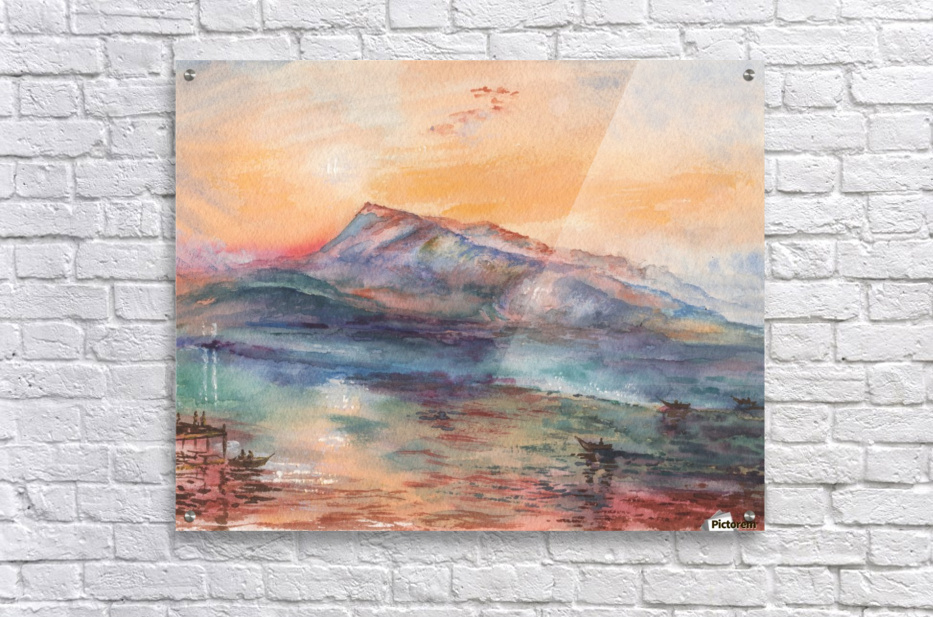 Mount Rigi Switzerland Lake  Acrylic Print