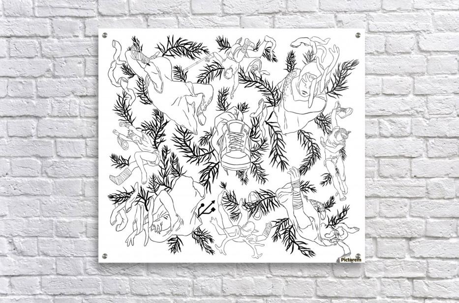 pieceofmyart3  Acrylic Print