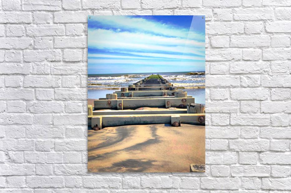 Tracks to Nowhere  Acrylic Print