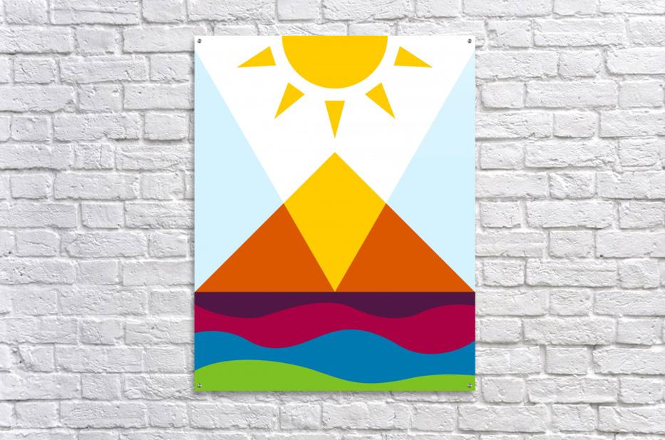 The Pyramid  Acrylic Print