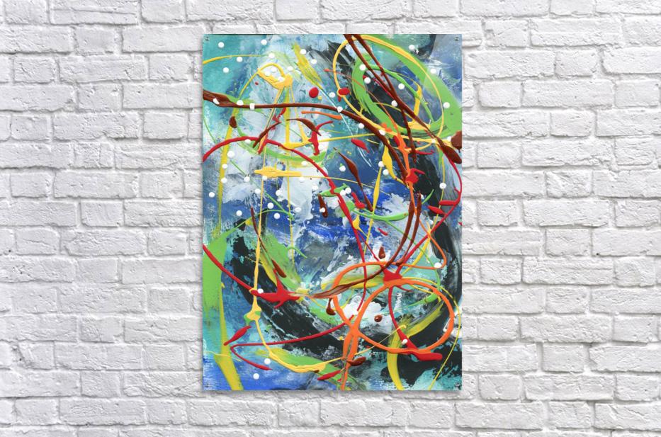 Colour Carnival III  Acrylic Print