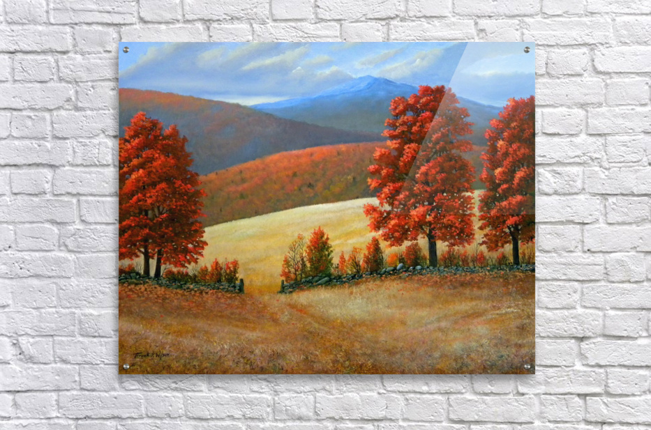 Autumns Glory  Impression acrylique