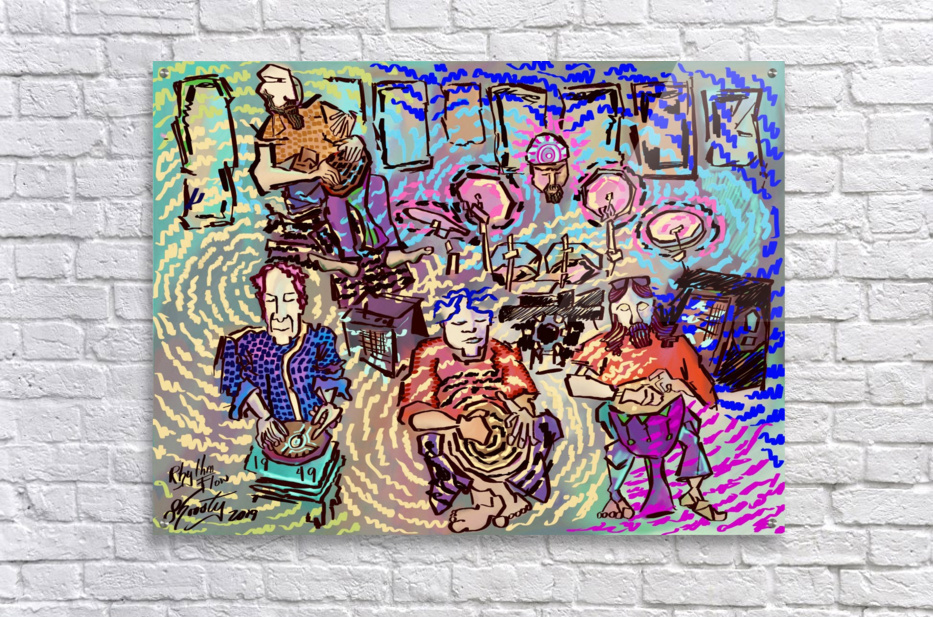 Rhythm Flow  Acrylic Print