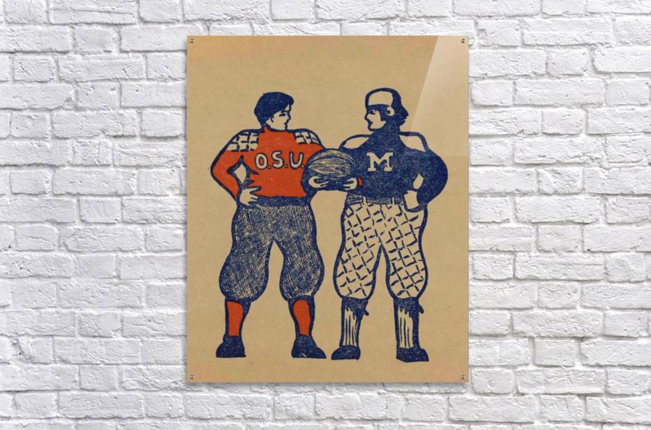 1901 Ohio State vs. Michigan  Acrylic Print