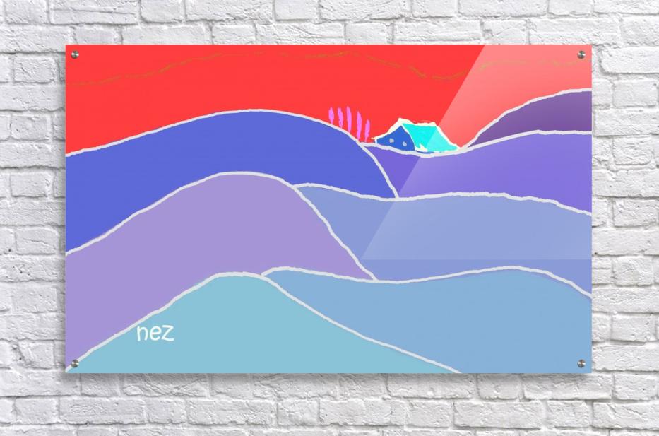 The Zone  Acrylic Print