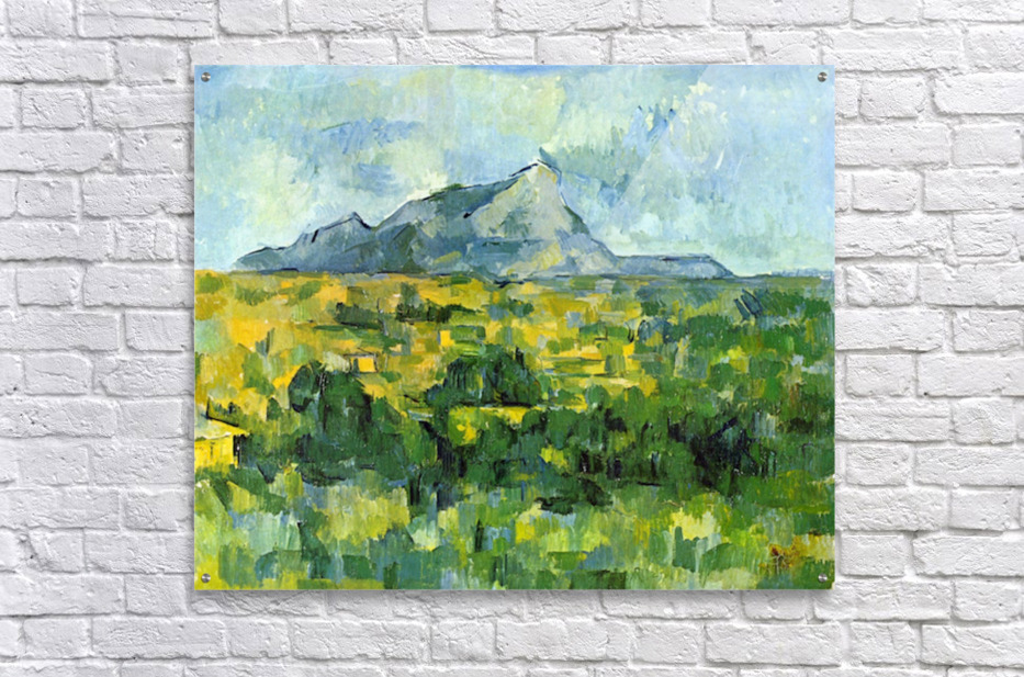 Mount St. Victiore by Cezanne  Acrylic Print
