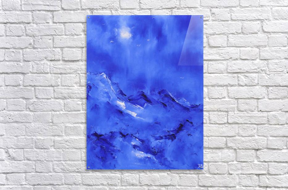 White birds-2  Acrylic Print