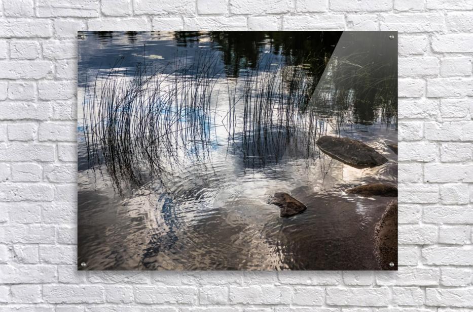 water circles  Acrylic Print