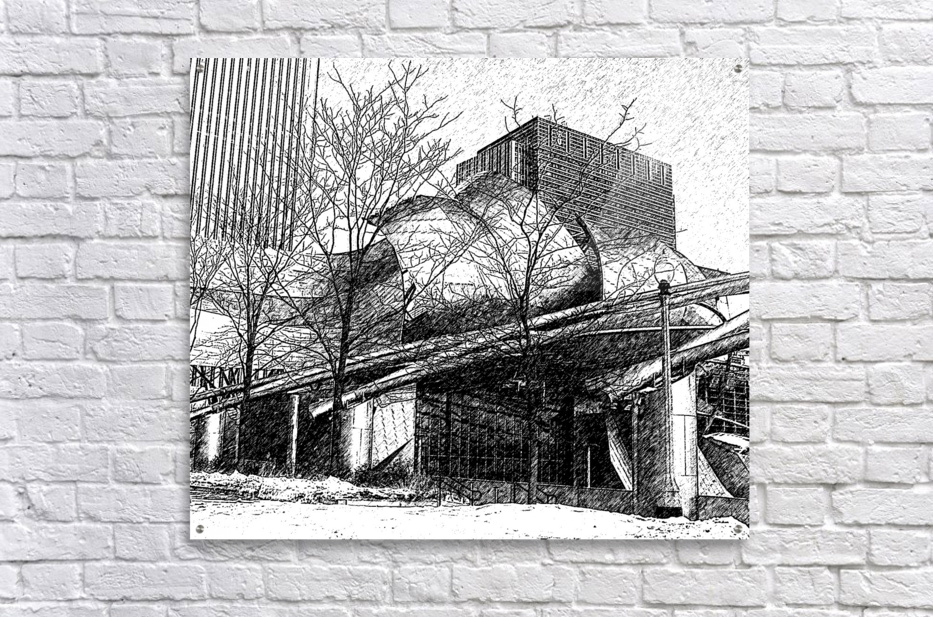 Millenium Park Chicago  Acrylic Print