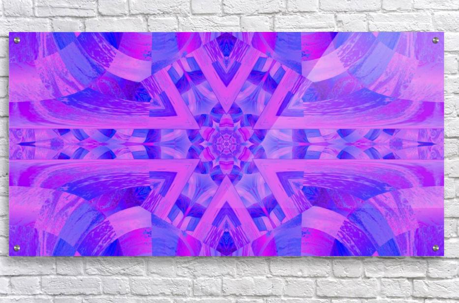 Lotus In Mist  Acrylic Print