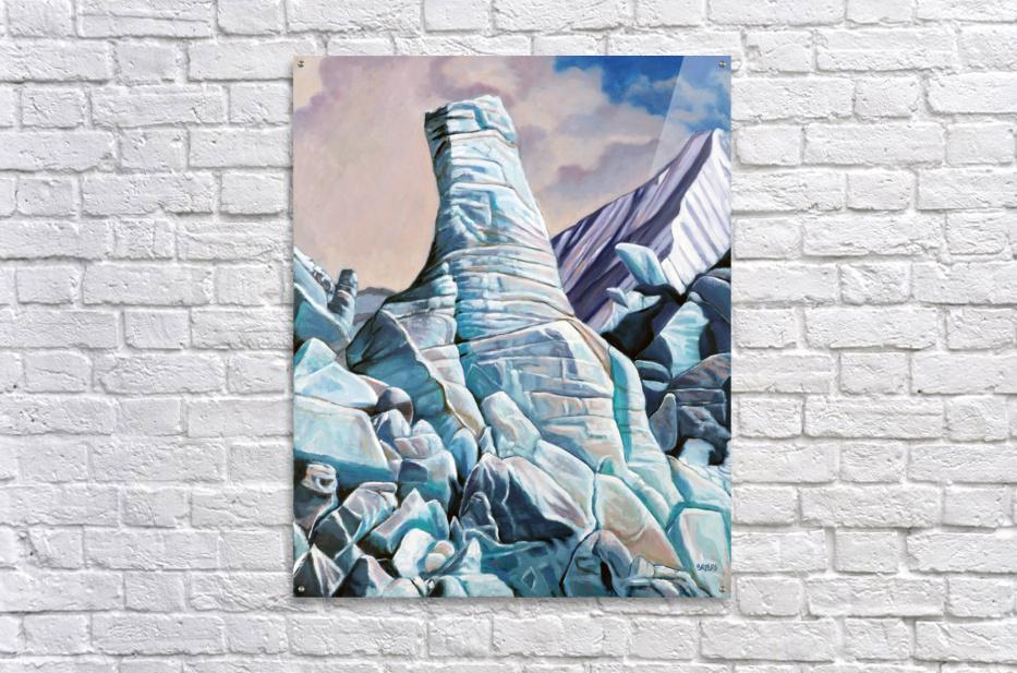 Glacier 3  Acrylic Print