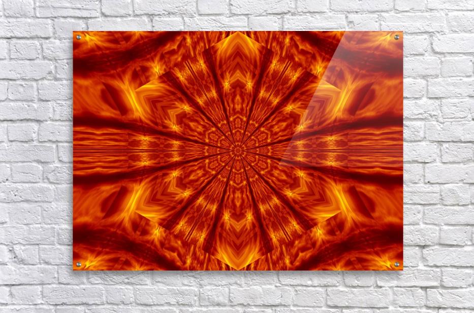 Fire Flowers 56  Acrylic Print
