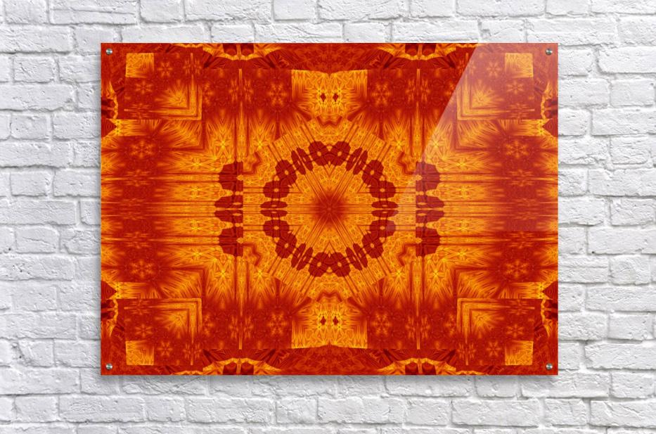 Fire Flowers 154  Acrylic Print