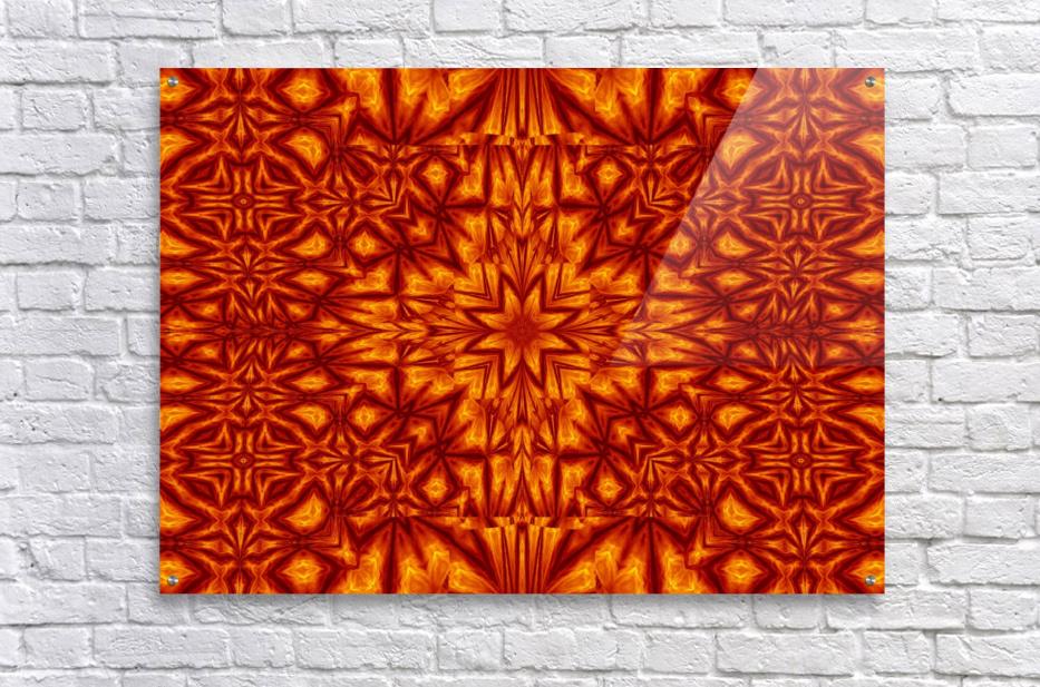 Fire Flowers 210  Acrylic Print