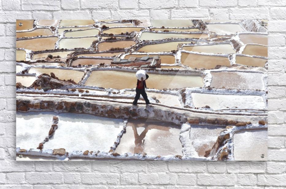 A Day at the Salt Mine  Acrylic Print