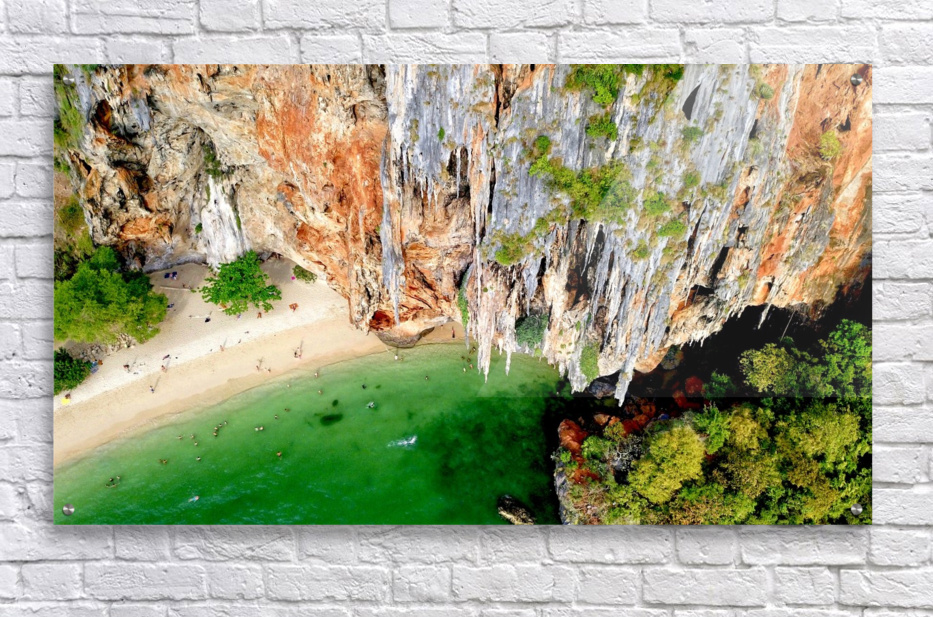 Thai From Up High  Acrylic Print