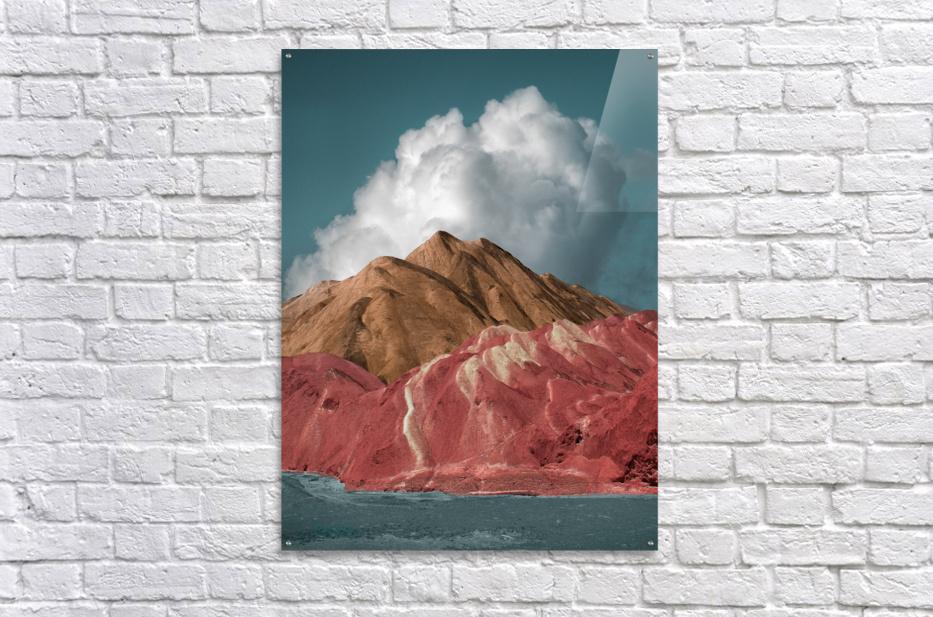Colorful Danxia  Acrylic Print