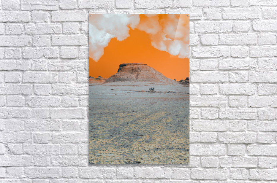 Ghost City  Acrylic Print