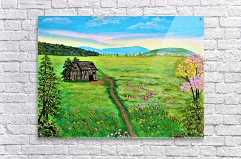 Sweet Little Home on Plains  Acrylic Print