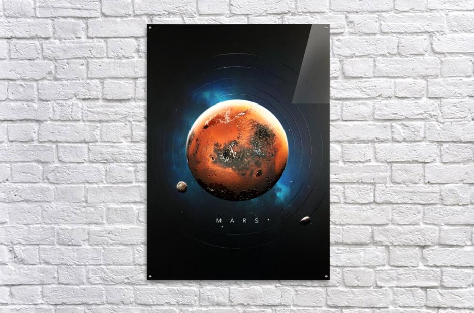 Destination Mars  Acrylic Print